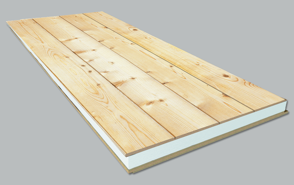 Natural Fir + Polystyrene + Waterproof Board