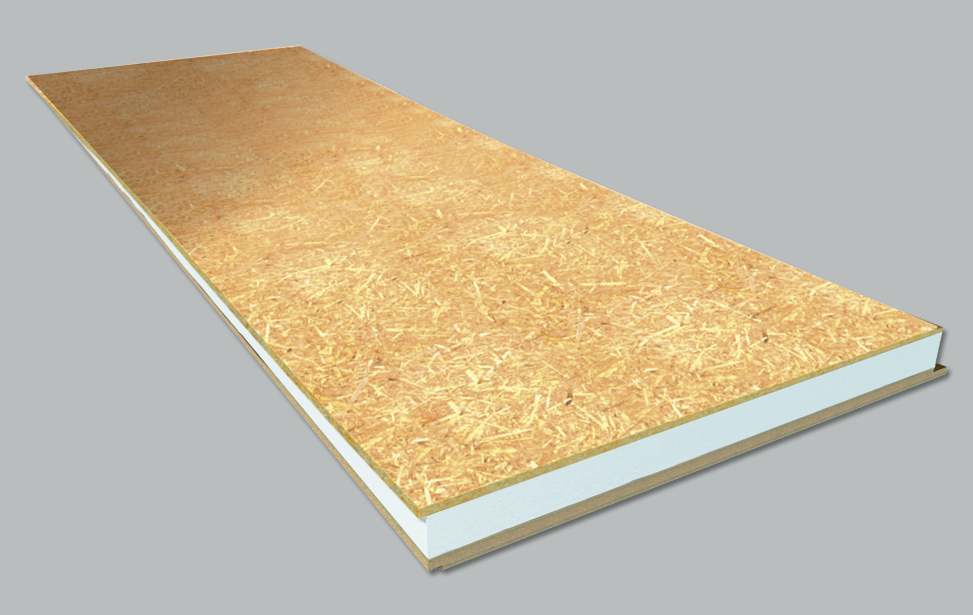 OSB Finish + Polystyrene + Waterproof Board